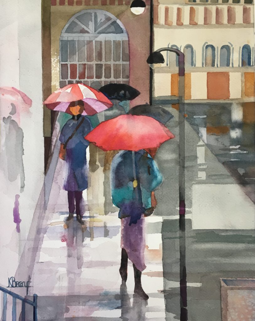 "Rainy Day / 15"" x 20"""